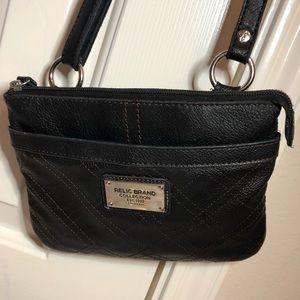 Relic black purse over-the-shoulder
